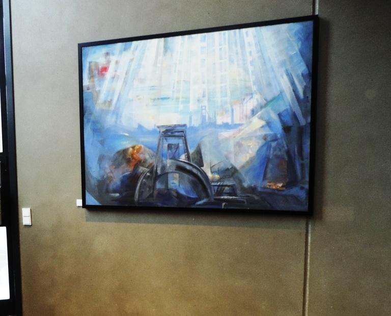 """KUNSTGALERIEN:      Besuch der """"galerie artproject"""" in der Kunststadt Mülheim an der Ruhr"""