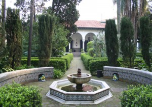 Jardin_Andaluz_des_Museums_Enrique_Larreta_Buenos_Aires_Brunnen