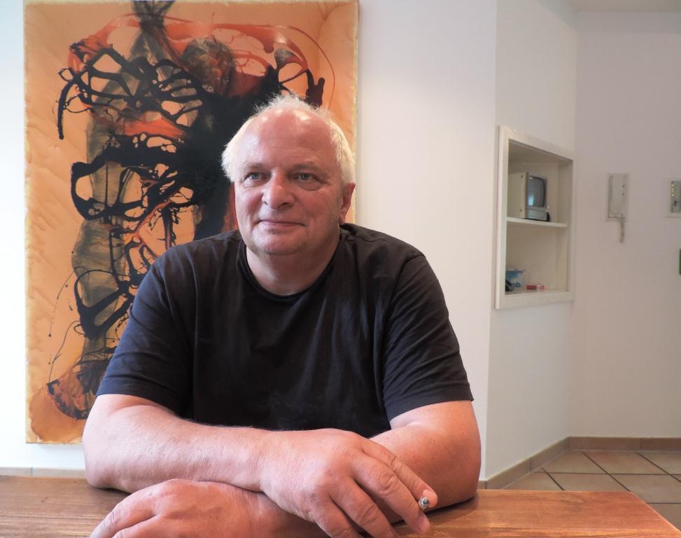 Manfred Dahmen wirkt jetzt in der Kunststadt Mülheim an der Ruhr