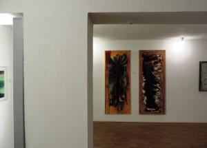 Kuenstler_Manfred_Dahmen_zur_Benefizausstellung_ZERO,INFORMEL,ZEN-49;Kunst_nach_1945_ALTES_PFANDHAUS_KOELN_Foto_by_Ivo_Franz_Galerie-an-der-Ruhr_Muelheim