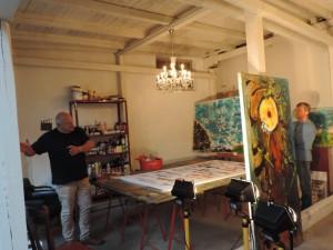 Guten_Morgen_Muelheim_Manfred_Dahmen_mit_Kunstfreunden_in_seinem_Atelier_in_der_Kunststadt_Muelheim_Foto_Ivo_Franz