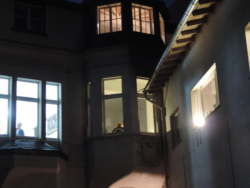 RUHRPOTTDSCHUNGEL – Krimilesung mit Jo Ziegler im Erkerzimmer der Galerie an der Ruhr in der Kulturstadt Mülheim