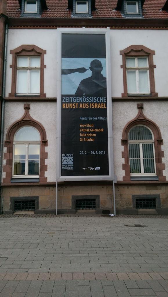 Internationale Künstler in der Kunststadt Mülheim – Kunstgebiet Rhein – Ruhr – aus Sardinien und Israel