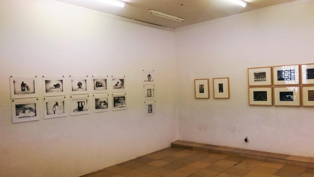 Der amerikanische Künstler Tom Carpenter in der Kunststadt Mülheim zu Besuch