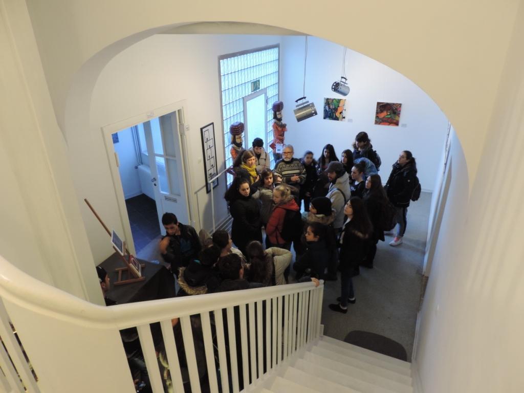 """Dortmunder Schulklasse nimmt am """"Artistic Seed"""" in der Galerie an der Ruhr in Mülheim teil"""