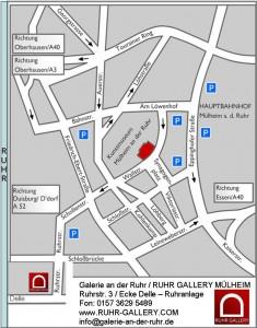 Meyer zu sehen in Mülheim in der Stadtmitte der Kunststadt im Ruhrgebiet