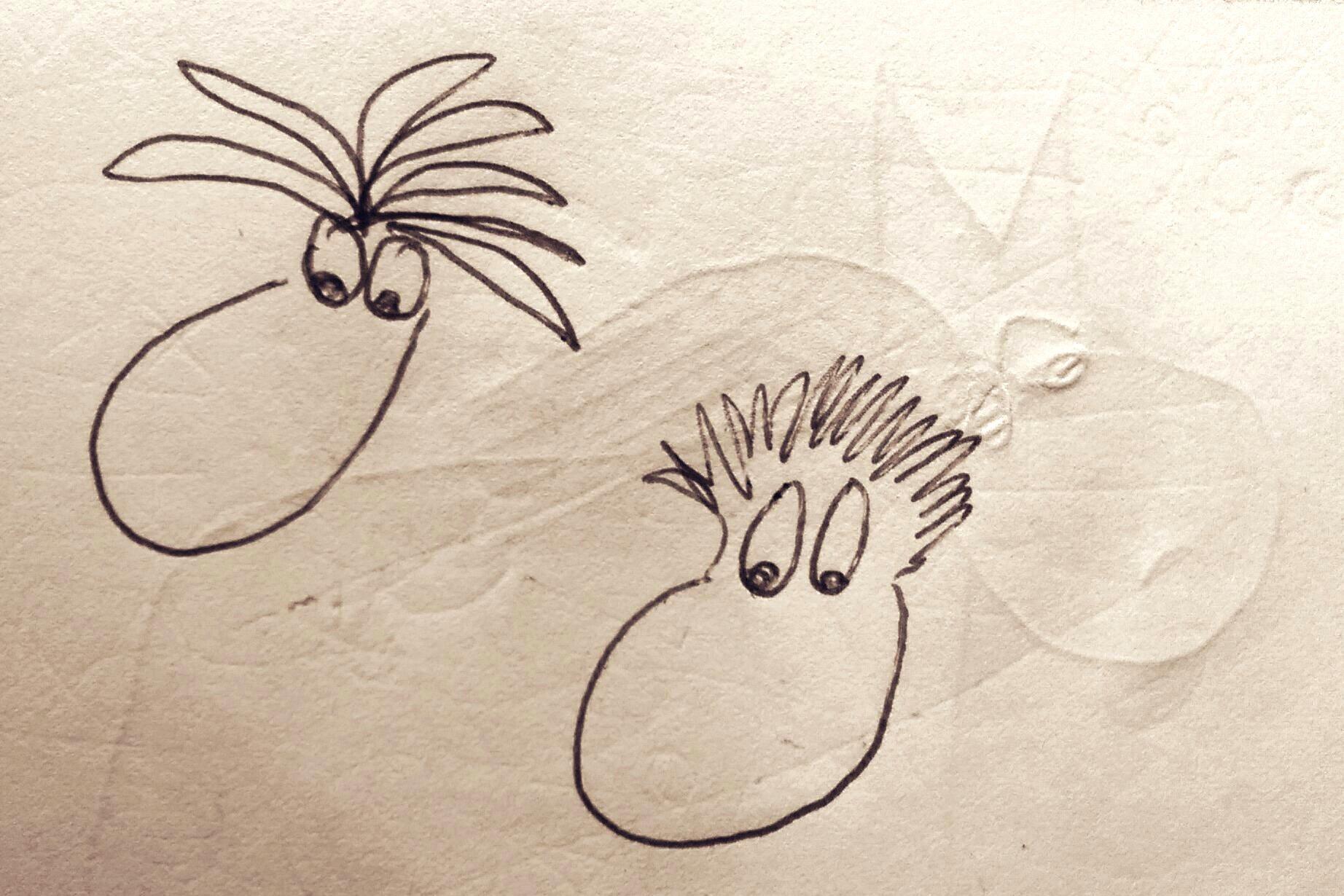 Kleine Skizzen / Zeichnungen von VSF