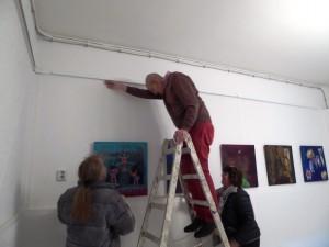 In_der_Galerie-an-der-Ruhr_Muelheim_v-l-Juergen_Block,Ivo_Franz;Heidi_Becker_Werke_von_Brigitte_Zipp