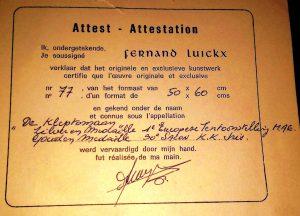 Attest-Attestation_77_F.L.De_kleptomaan_50x60_Oil_Holz