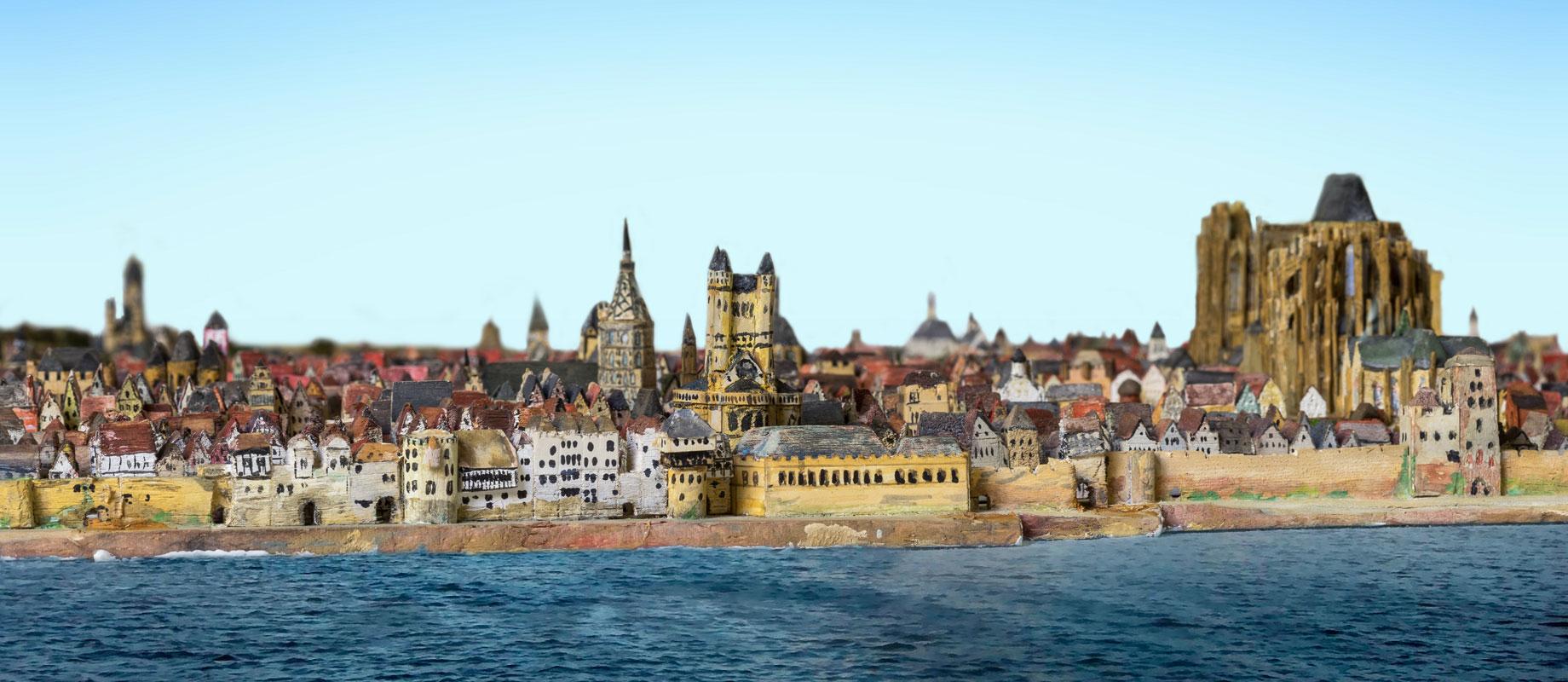 Fotografenteam rückt dem Giesen – Stadtmodell von Köln zu Leibe #verdamplangher