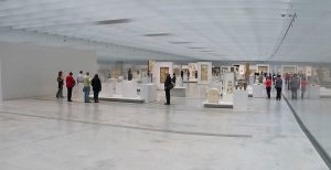 Abteilung des Louvre-Museums in Lens, Nähe Lille, Nordfrankreich