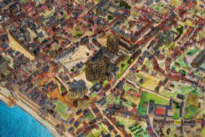 Stadtmodell_von_Theo_Giesen_Foto_Juergen_Brinkmann_RUHR-GALLERY-MUELHEIM
