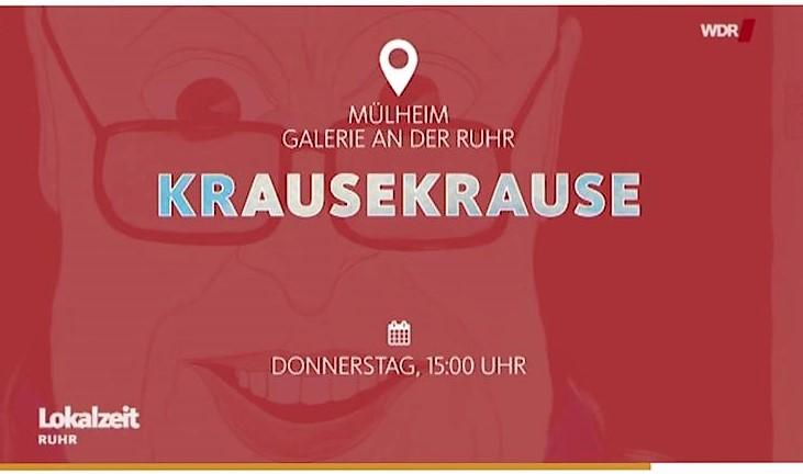 """#KRAUSEKRAUSE Installation """"Here I am – back again"""" ist jetzt an der Ruhr zu sehen"""
