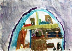 Kinder sehen ein Kunsthaus LUKAS, 6 Jahre