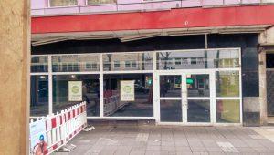 Ein großzügiges Ladenlokal konnte wegen Leerstandes für die Jahresausstellung 2017/2018 gewonnen werden. Leineweberstr. 34 in der Innenstadt-MH