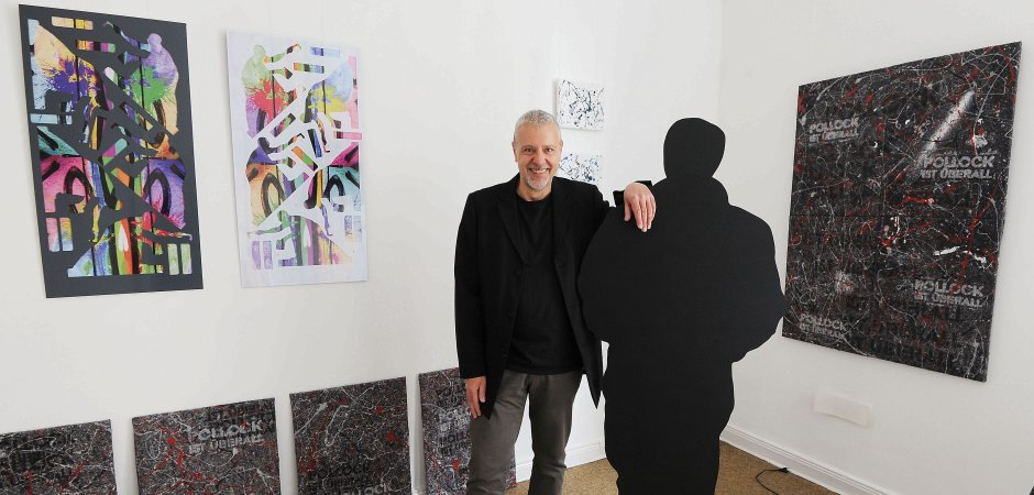 """""""TAGWERK2017"""" ist Skizzenbuch, Ideensammlung, Dokumentation des Künstlers Klaus Wiesel"""