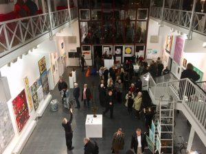 """""""Kunst hilft geben"""" Ausstellung im Atelierhaus Alteburger Wall in Köln 13. - 25. November 2018 Di-Sa 17-20 Uhr"""