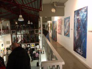 """""""Kunst hilft geben"""" Ausstellung im Atelierhaus Alteburger Wall in Köln 13. - 25. November 2018 Di-Sa 17-20 Uhr auf 2 Etagen"""