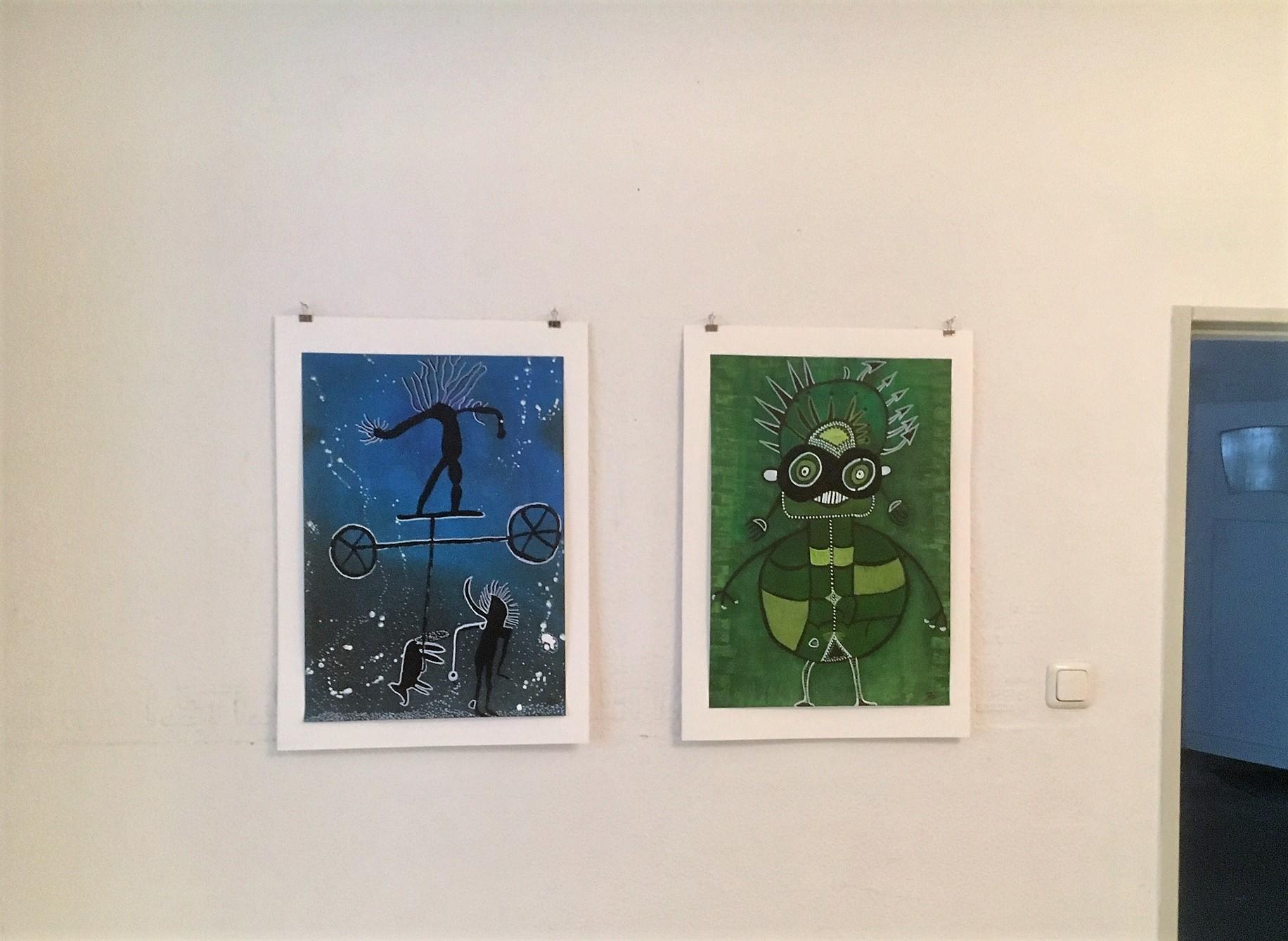 """Museale Einzelausstellung: Brigitte Zipp """"ZWISCHENWELTEN"""" Galerie an der Ruhr 24. November bis 31. Dezember 2018"""