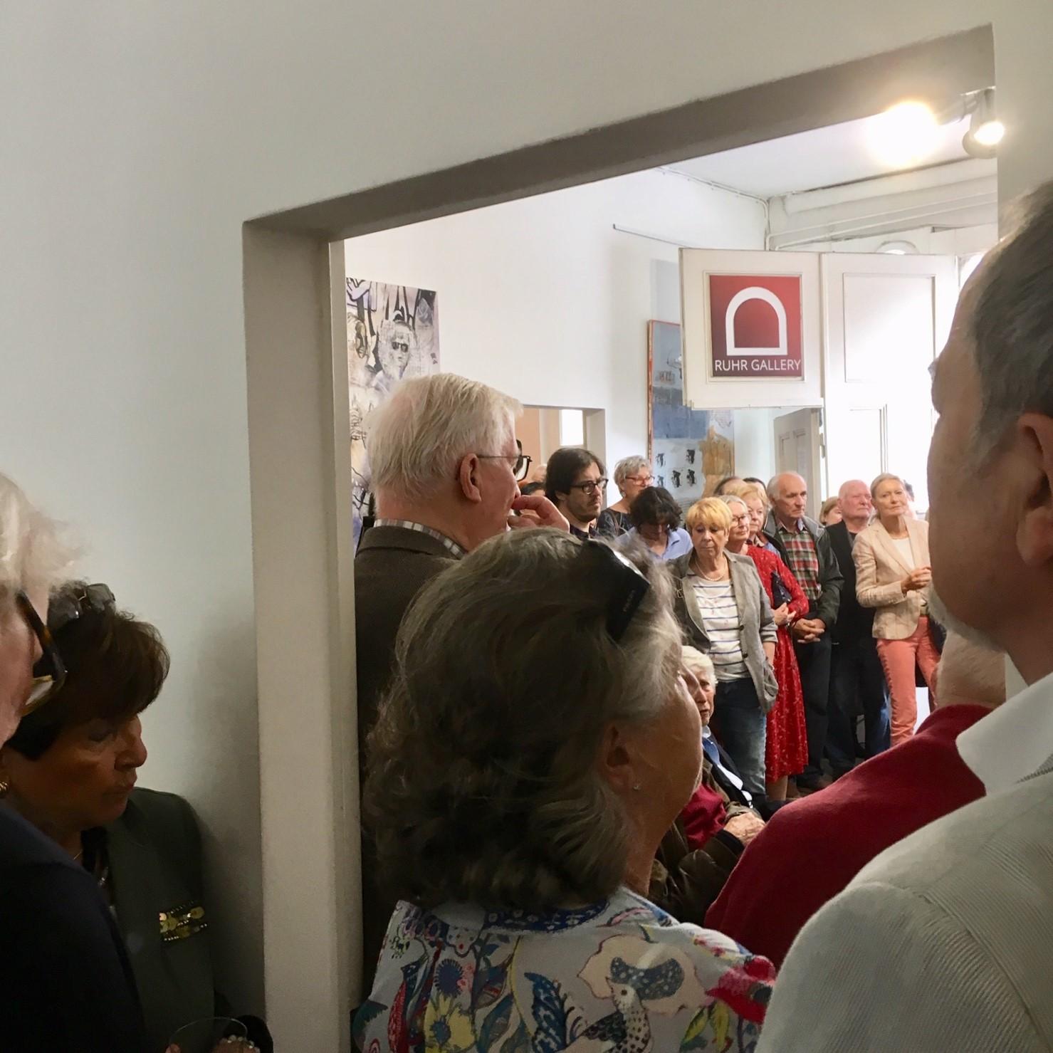 Juni-Ausstellung von Kuno Lange, Joachim Kramer und Klaus Jost RUHR GALLERY MÜLHEIM