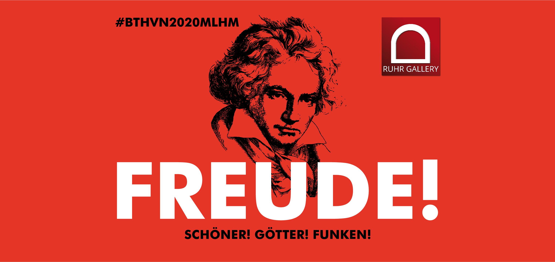 4-teiliges Logo für das Beethovenjahr 2020 in der Kunststadt Mülheim steht fest