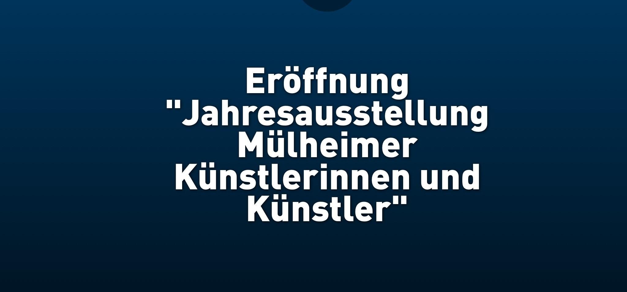 """""""Das Kleine"""" ist ganz groß in der Kunststadt Mülheim an der Ruhr"""