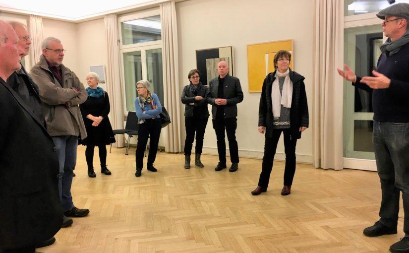 Wolfgang Vogelsang stellt im Bürgermeisterhaus Werden aus