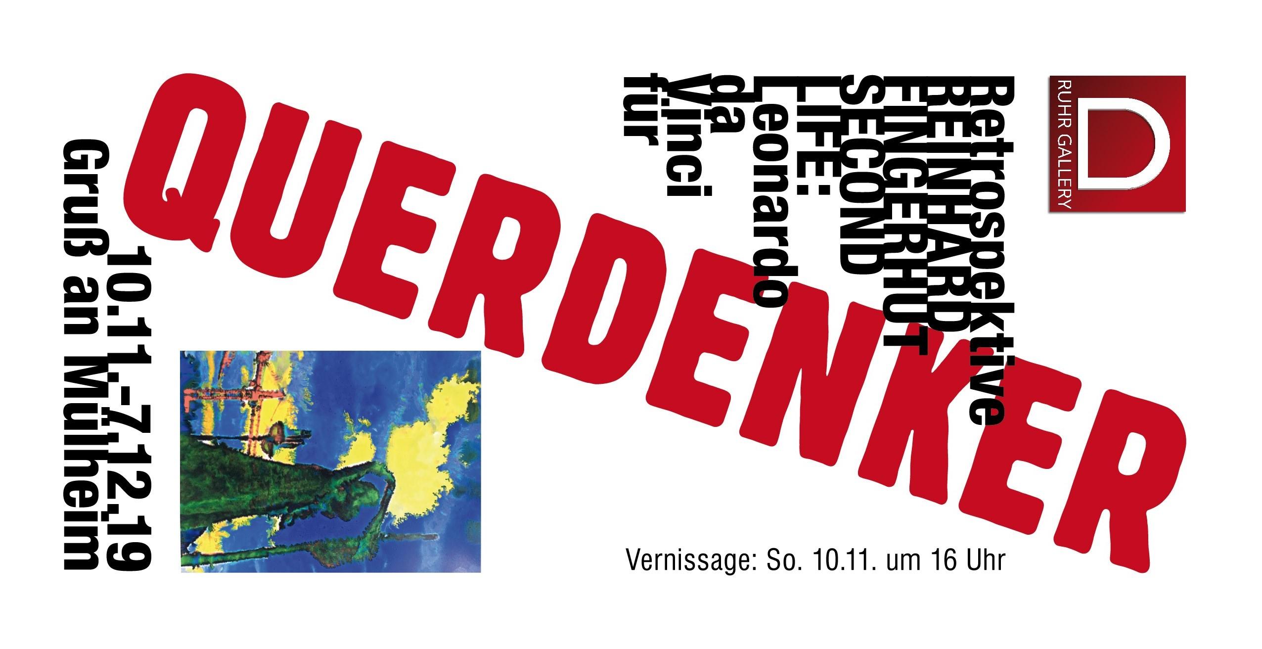 6. Mülheimer Kunsttage 2019 – Fingerhut-Schau startet am 10.11.2019 um 16:00 Uhr RUHR GALLERY