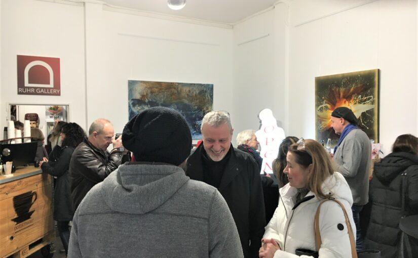 MALEREI VON HANS ARTS LOCKTE BESUCHER NACH MLHM