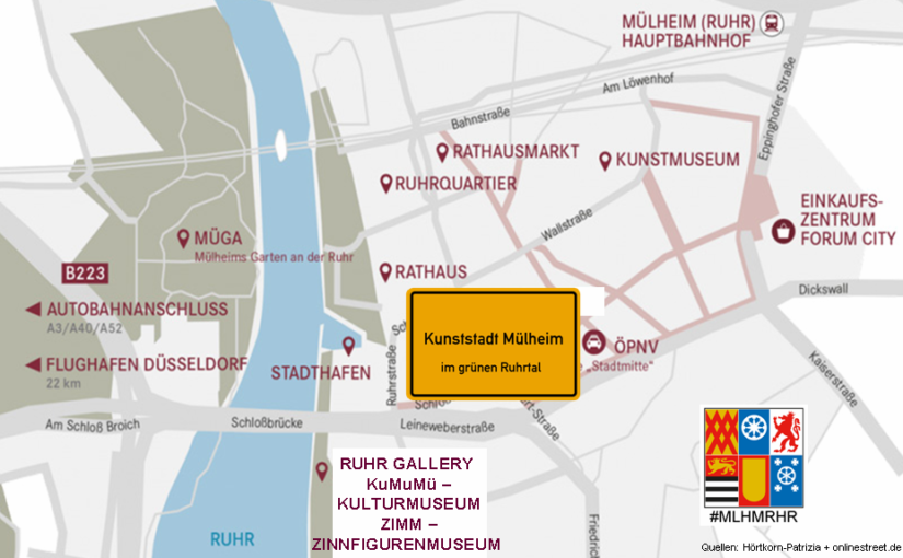 """MÜLHEIM-UPDATE: """"Zeit für Kunst"""" ist das Motto in der Kulturstadt im grünen Ruhrtal – MÜLHEIM KOMMT! –  frei nach Beuys"""